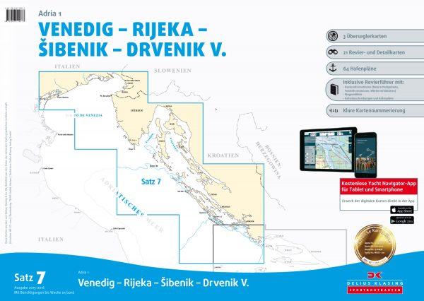 Satz 7, Venedig - Rijeka - Sibenik - Drvenik V.
