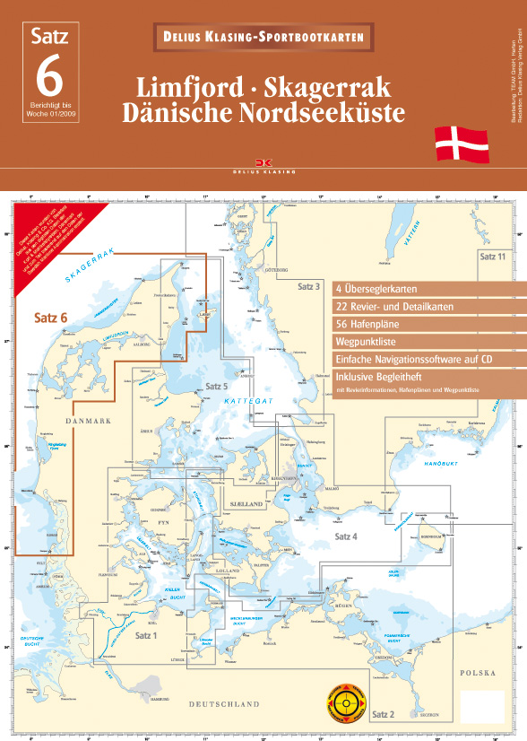 Satz 6: Limfjord • Skagerrak • Dänische Nordseeküste
