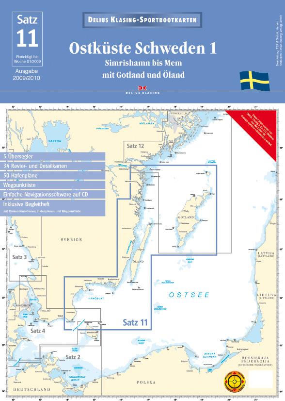 Satz 11: Ostküste Schweden 1 (2009/2010)
