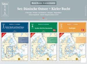 Satz 1+4+5 – Set: Dänische Ostsee + Kieler Bucht