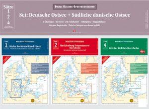 Satz 1+2+4 – Set: Deutsche Ostsee + Südliche dänische Ostsee