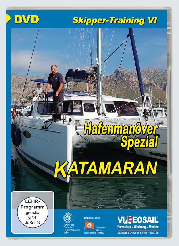 Skipper-Training VI - Katamaran - Hafenmanöver
