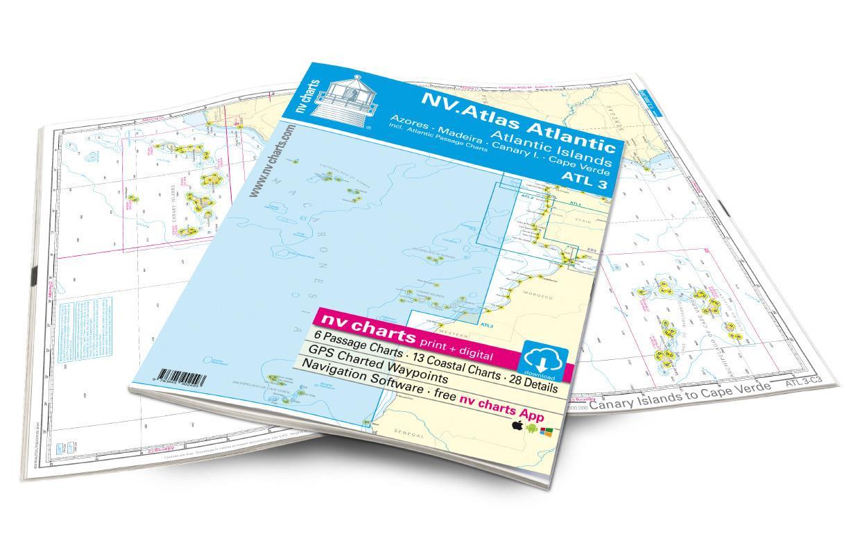NV Atlas ATL3 Atlantic Islands / Madeira - Canary Islands - Azores - Cape Verdes