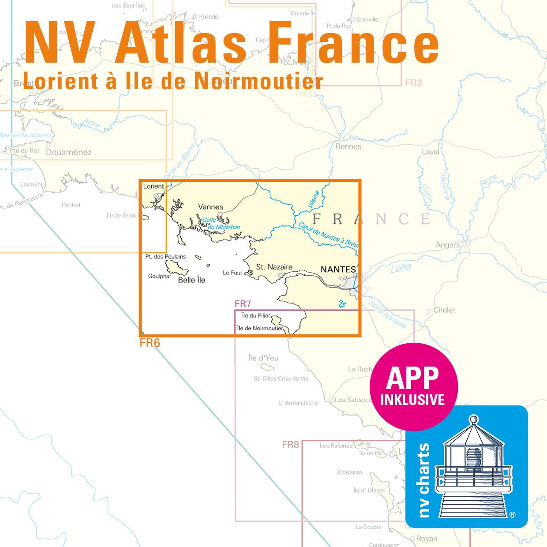 NV Atlas FR6 Lorient à I'lle de Noirmoutier Nantes